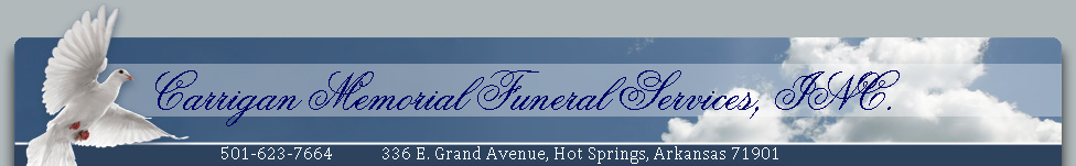 Carrigan Memorial Funeral Services, INC.